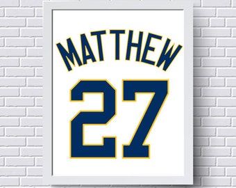 Padres poster etsy san diego padres print poster baseball jersey gift for him personalized baby custom negle Images
