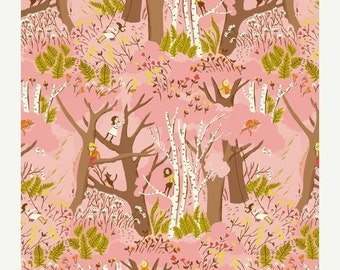 Sale 15% Off Tiger Lily /Climbing Trees/ Windham Fabrics/ Heather Ross