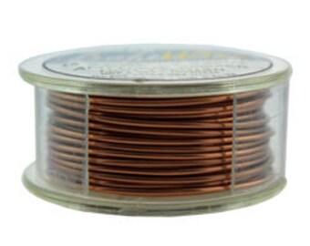 Craft Wire Antique Copper Round Wire 18ga 7yd (WR6718AC)