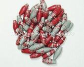 Paper Beads, Loose Handmade Supplies Washington State University Cougars