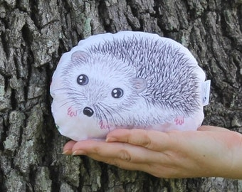 Hedgehog woodland plush. Baby hedgehog softie. Forest stuffed animal. Woodland creature. Baby toddler toy. Gift for children. Gift for kids.