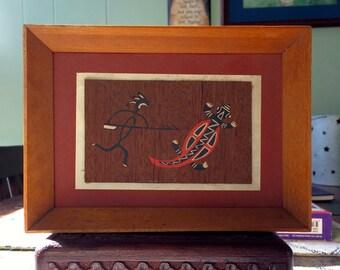 Australian Aboriginal Design silk-screen