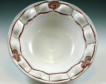 Small bowl with white glaze