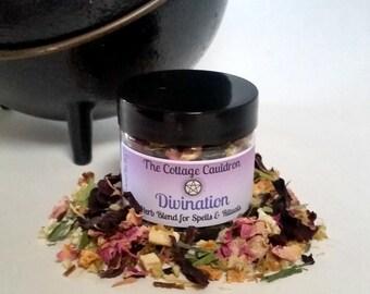 Divination Ritual Herb Blend // Loose Incense