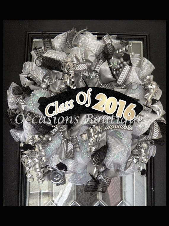 Graduation Wreath Graduation Party Decoration Class Of 2016