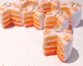 Ombre Cake - Polymer clay charm
