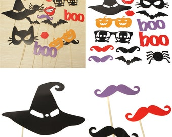 Halloween Photo booth props, Halloween Photo Booth props, decoration props,