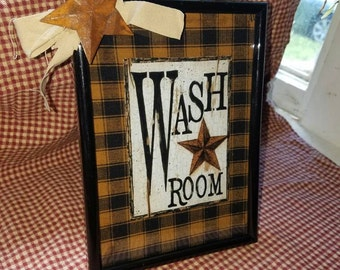 Country primitive wall decor FREE SHIPPING