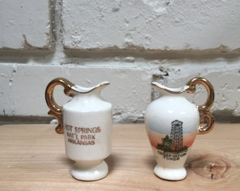 Mini Pitchers from Hot Springs, AR