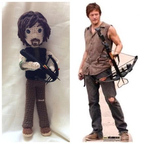 Crochet Daryl Dixon Doll
