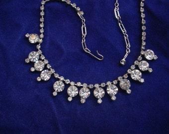 1950s Dazzler Rhinestone Necklace
