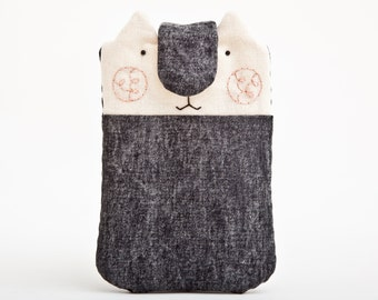 iPhone Case, Only one size - 5.1 x 3.5 in. (13 x 9 cm.), iPhone sleeve, Cat Lover Gift