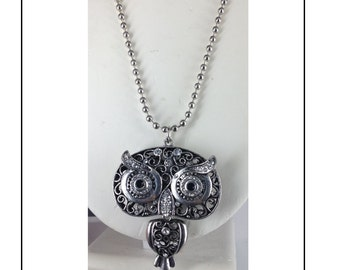 SALES: Kawaii  Owl necklace