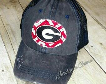 University of Georgia Bulldogs UGA Trucker Hat