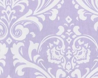 Lilac Osborne Damask Fabric - By The Yard - Girl / Modern / Fabric
