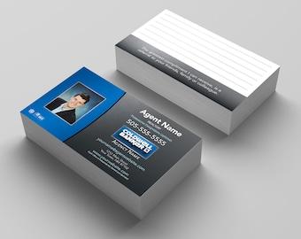 Coldwell Banker Business Card, Coldwell Banker Cards, Realty Business Card, Professional Cards, Real Estate Cards, Custom Design Cards