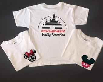 Disney Shirts, Family Vacation Shirts, Vacation Shirts, Disney Cruise, Disney Cruise Shirts, 1st Disney Trip, Matching Shirts, MM10