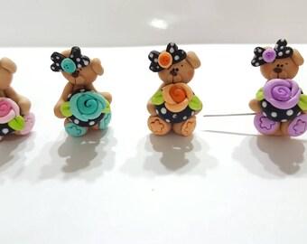 Adorable Bear Needle Snuggler