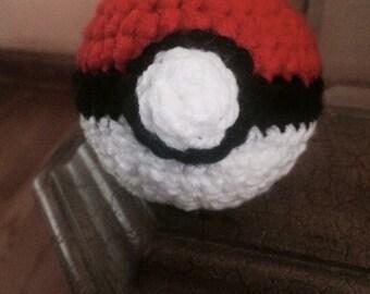 Pokemon crochet ball