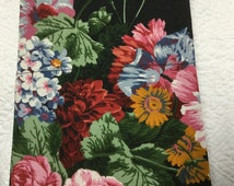 Authentic original Ralph Lauren Isadora black floral standard pillowcase