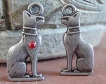 Egyptian Mau Cat Charm