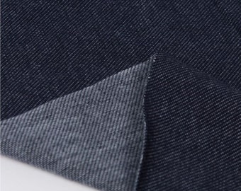 Stretch Knit Fabric Navy