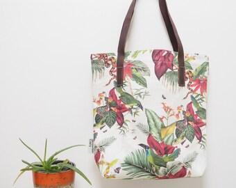 Palm Print Shoulder Bag
