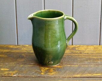 2 Pint Jug - Hand-Thrown Pottery