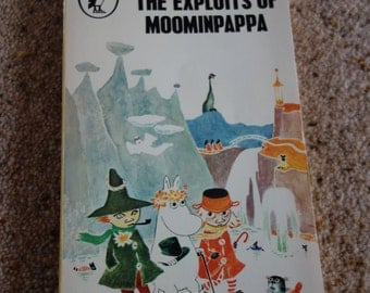 1969 1st edition copy Puffin The Exploits of Moominpappa ByTove Janson