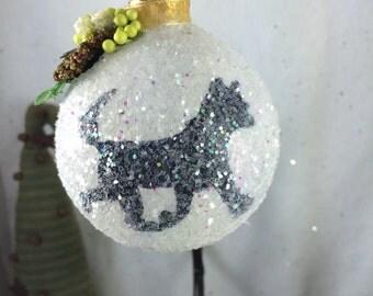 Your pet on a Suncatcher / Christmas Ball
