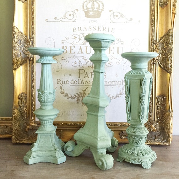 Wedding candle holders table centerpiece mantle decor for Mantle holders