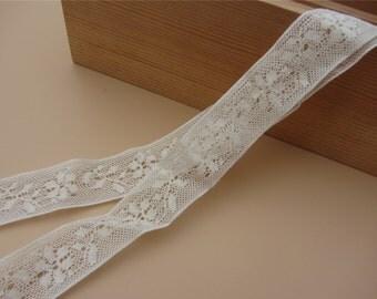 Diy Handmade Patchwork Cotton Material Cotton Lace Ribbon Beige Color Cotton Lace TRIM cotton LEAVES lace-LSC013-2.3cm cotton rose ribbon