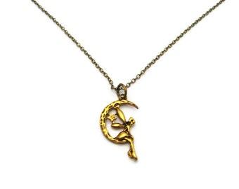 Fairy Necklace Fairy Jewelry Mythology Necklace Mythology Jewelry Magical Creature Necklace Fey Necklace Gift Mythology Lovers