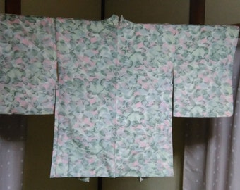CLEARANCE! Women's Haori (Kimono Coat), Japanese vintage traditional kimono coat