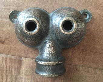 Vintage Brass Twin Owl Sprinkler Head 151