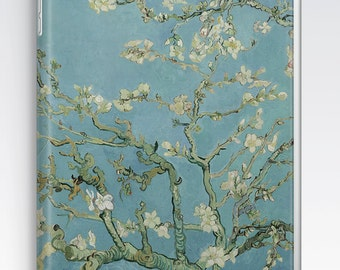 iPad Air Case, iPad Air 2 Case, iPad 1 Case, iPad 2 Case, iPad 3 Case, iPad Mini 1 2 3 4 Case, - Almond Blossoms by Vincent Van Gogh