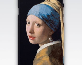 Case for iPhone 8, iPhone 6s,  iPhone 6 Plus,  iPhone 5s,  iPhone SE,  iPhone 5c,  iPhone 7,  The Girl With A Pearl Earring by Vermeer