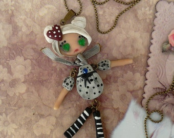 Puppet Doll Necklace