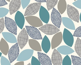 Fabric - Cloud 9 - Threads Woodland Weaves White - Double gauze fabric