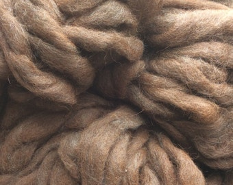 Alpaca Coopworth Wool Roving - 4 oz.