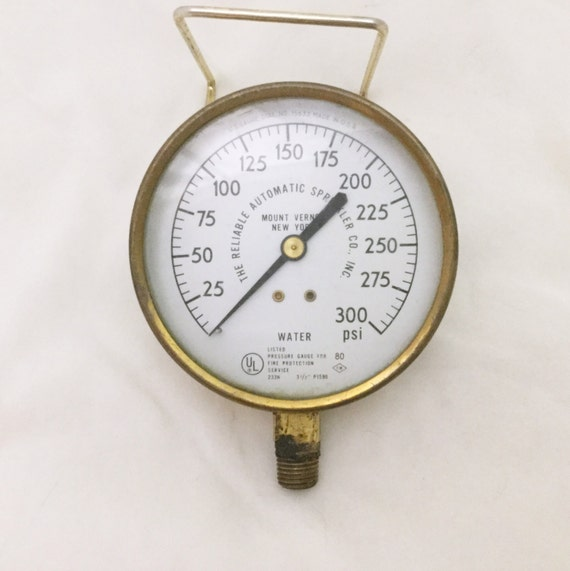 Reliable ny pressure gauge brass steampunk water steam - Steampunk pressure gauge ...