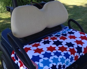 Proud Stars Terry Cloth Golf Cart Seat Cover