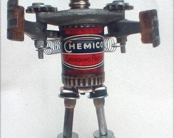 Junk art Robot Sculpture