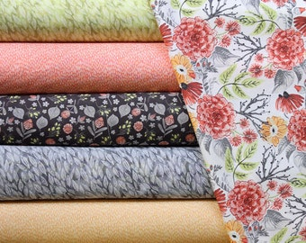 Fabric Bundle of Dear Stella Mumseed Meadow and Dress Stripes - 12 Different Fabrics