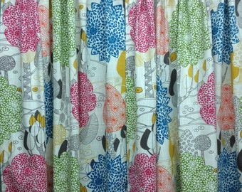 "Custom Curtains - TWO panels - choose your own fabric and size - 50"" W x 36"" L"