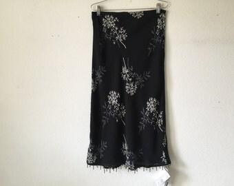 Vintage Skirt Reversible
