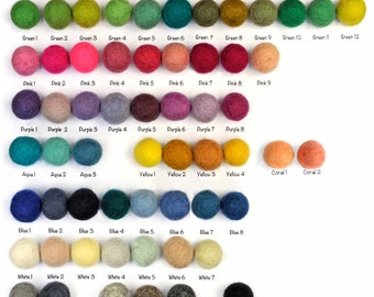 Design Your Own Felt Ball Pom Pom Garland 3 metres