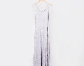 Calypso Maxi Dress // Organic Marled Cotton