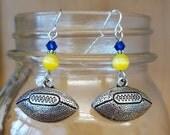 University of Michigan Football Earrings