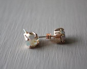 Pink Power Swarovski Crystal Earrings